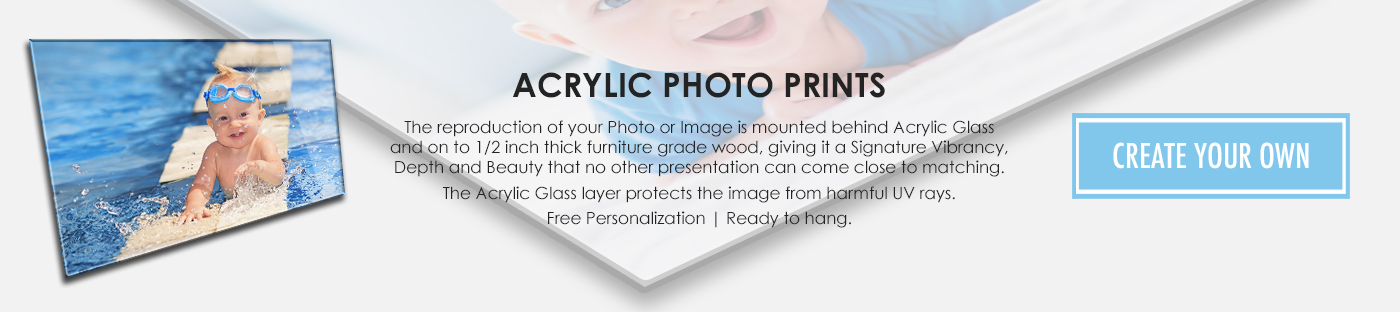 ACRYLIC PHOTO PRINTS, Custom Acrylic Prints, Acrylic Art, Stunning Wall Plaque Prints on Acrylic